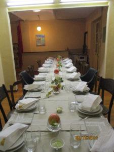 Allestimento cena Peruviana